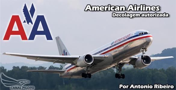 American Airlines – Decolagem autorizada