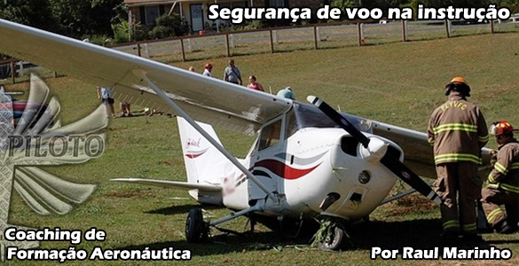 Segurança de voo na instrução