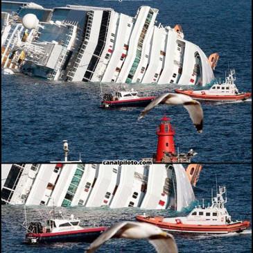 O acidente do Costa Concordia