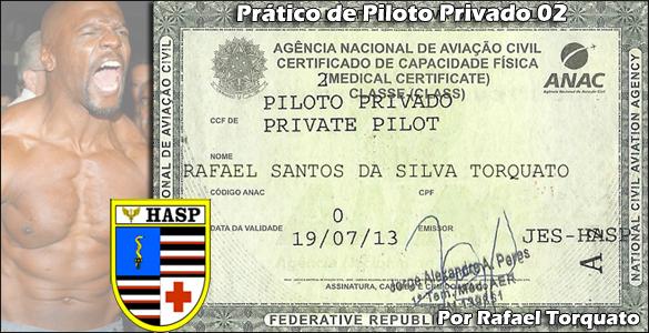 Prático de Piloto Privado 02 – CCF/CMA no HASP