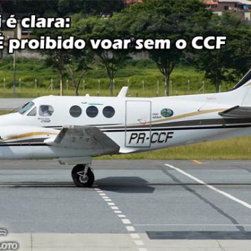 Sempre voe com o CCF
