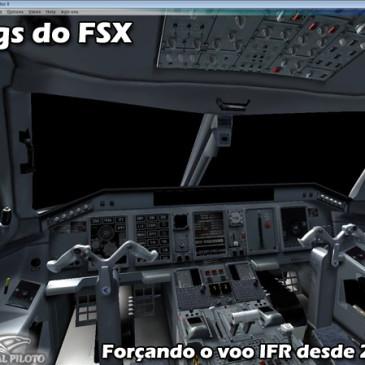 Bugs do Flight Simulator X