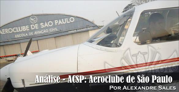 Análise – ACSP: Aeroclube de São Paulo