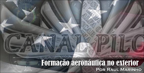 Formação aeronáutica no exterior