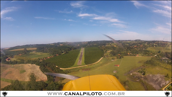 Glissada Canal Piloto Prático de Piloto Privado 16