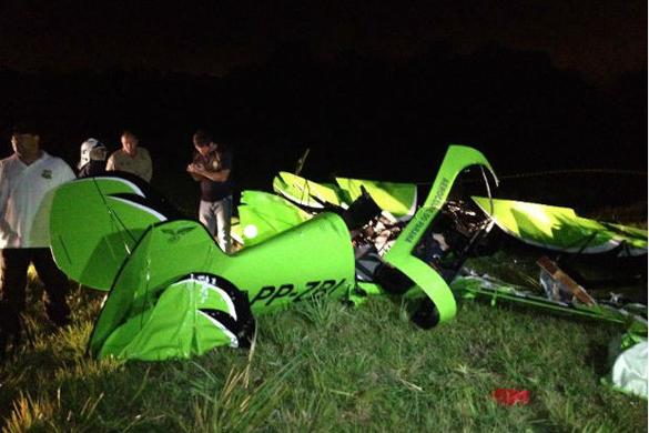 PP ZBI Canal Piloto Christen Eagle II (PP ZBI) cai em Campina Grande do Sul (PR): Dois mortos