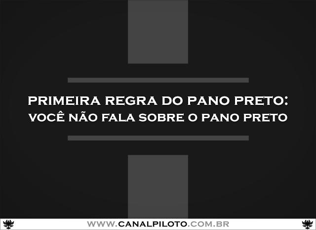 Pano Preto 640 Canal Piloto Pano Preto + Clube da Luta: Flight Club