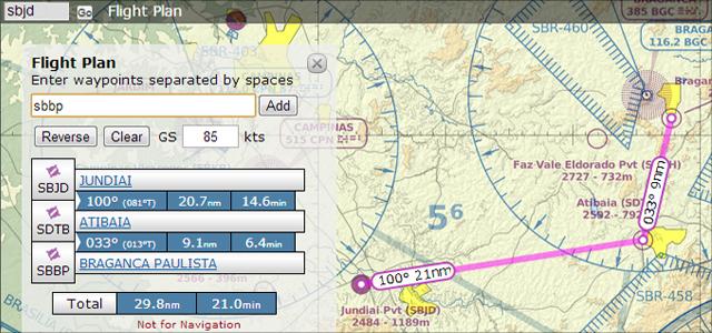 Auxílios online para planejar seu voo