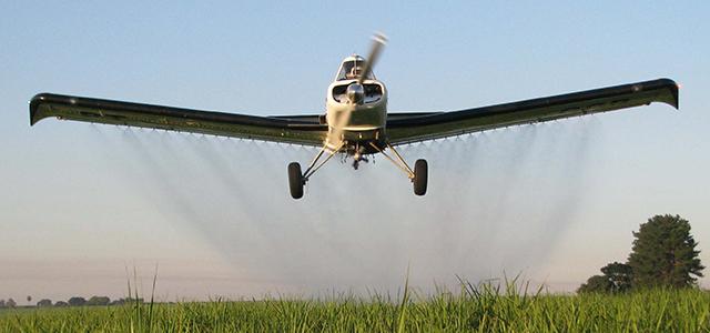 A Aviação Agrícola