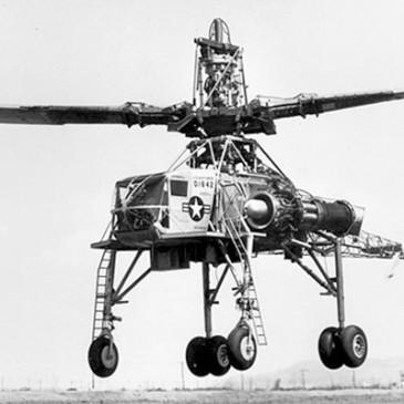 Hughes XH-17: O peso pesado dos helicópteros
