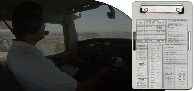Pranchetas VFR Bianch Canal Piloto Review   Prancheta de voo VFR