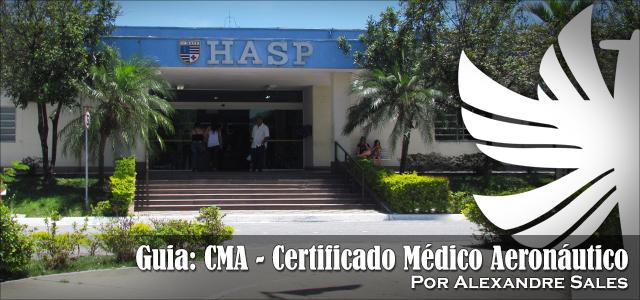 Guia: CMA – Certificado Médico Aeronáutico
