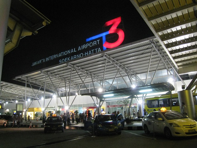 Sukarno Hatta International Airport Terminal 3 front