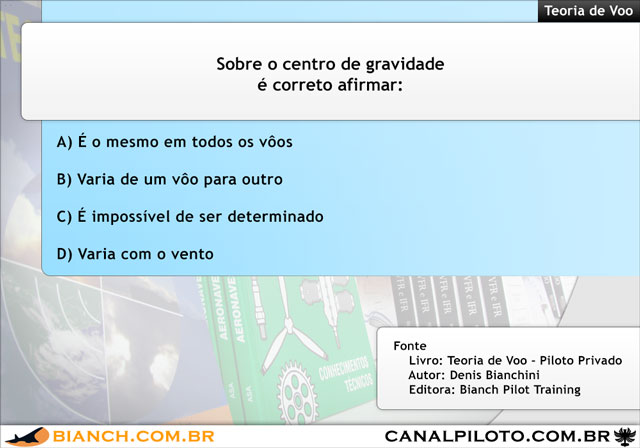 Bianch Simulado 260 TV 640 Canal Piloto Simulados da Bianch – Questão 260 – TV