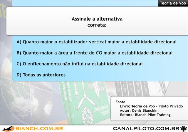Bianch Simulado 363 TV 640 Canal Piloto Simulados da Bianch – Questão 363 – TV