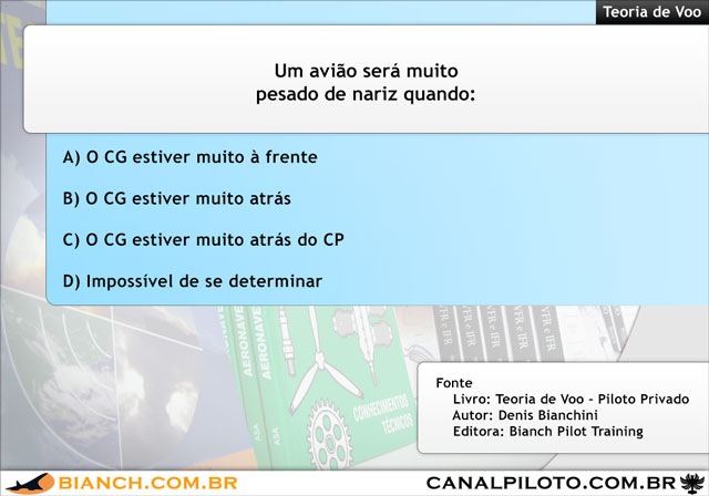 Bianch Simulado 370 TV 640 Canal Piloto Simulados da Bianch – Questão 370 – TV
