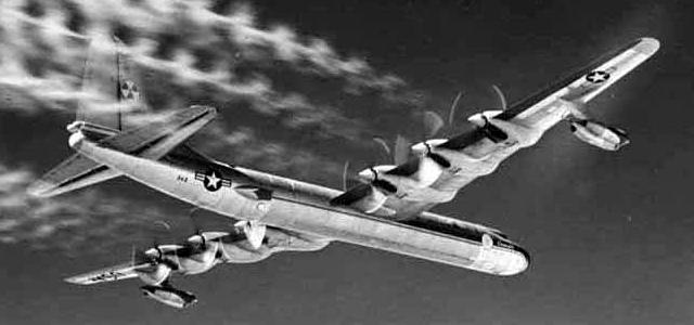NB 36H Canal Piloto Propulsão nuclear em bombardeiro nuclear?