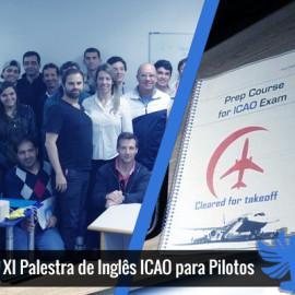 XI Palestra de Inglês ICAO para Pilotos