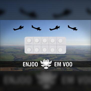 Enjoo nas aulas de voo | Canal Piloto