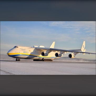Antonov An-225: O Ilustre Visitante