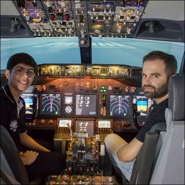 Piloto de Linha Aérea por um dia