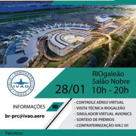 Demonstração Pública de Simulação – Evento RioGaleão 2017 – IVAO