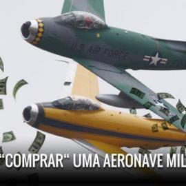 Civil pode comprar uma aeronave militar?
