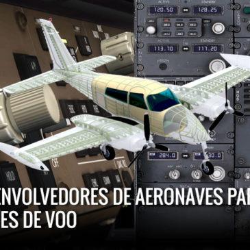 Top 5 – Desenvolvedores de aeronaves para Simuladores de Voo