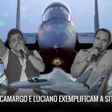 Como Zezé Di Camargo e Luciano exemplificam a situação do F-15