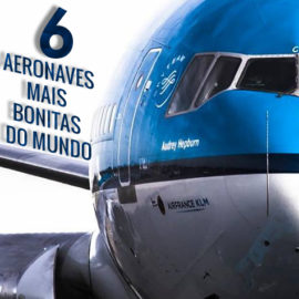 As (minhas) 6 aeronaves mais bonitas do mundo