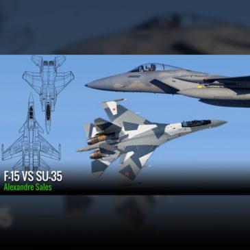 F-15 SE vs Su-35S Flanker E: O embate da 4ª geração