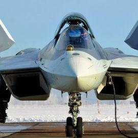 PAK FA T-50 ganha um novo nome: Su-57