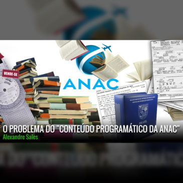 """O problema do """"Conteúdo programático da ANAC"""""""
