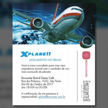 Lançamento oficial do X-Plane 11 no Brasil
